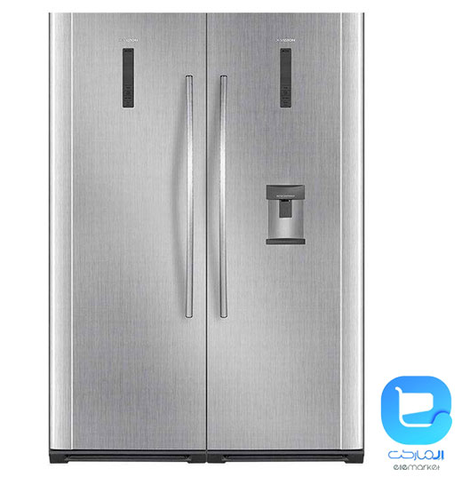 یخچال و فریزر دوقلو ایکس ویژن XFG650-XRD650