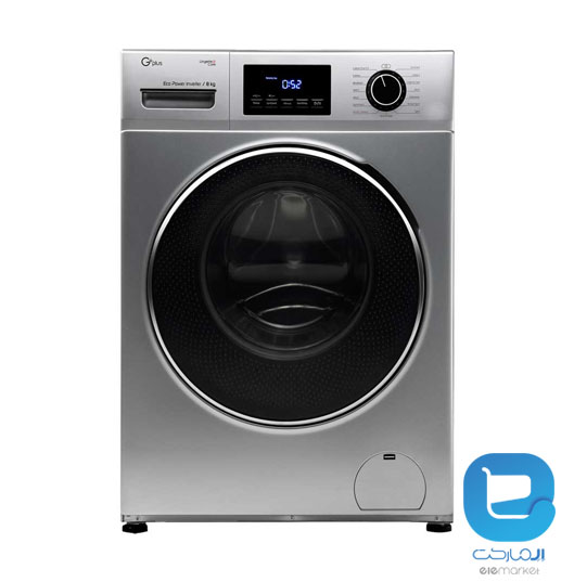 ماشین لباسشویی جی پلاس GWM-K824