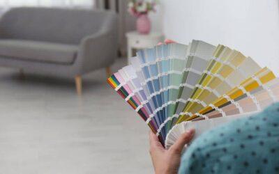 رنگ در چیدمان خانه